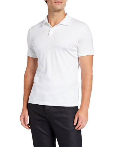 Men's Basic Cotton Polo Shirt
