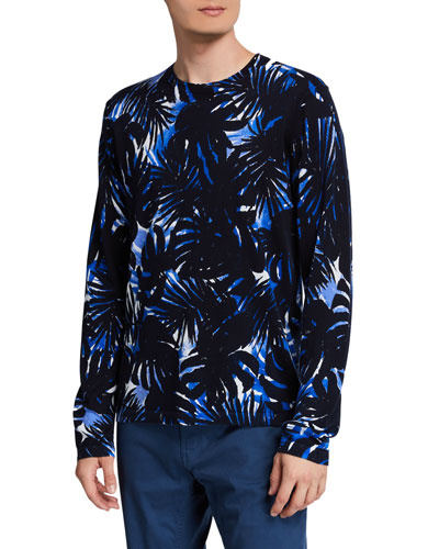 Men's Brush Palm Long-Sleeve T-Shirt