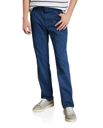 Men's Parker Straight-Leg Stretch Twill Pants