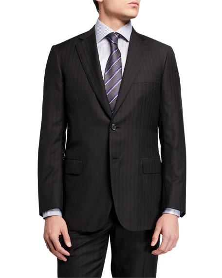 Brioni Men's Tonal Striped Two-Piece Suit