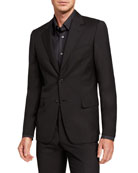 Brioni Men's Solid Two-Piece Virgin Wool Suit