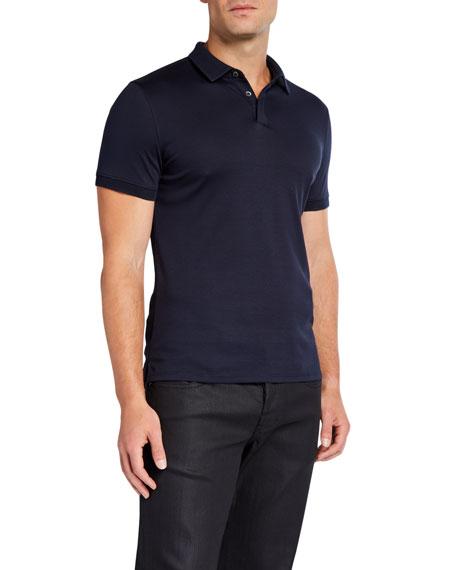 Emporio Armani Men's Basic Cotton Polo Shirt