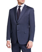 Brioni Men's Solid Wool Two-Piece Suit