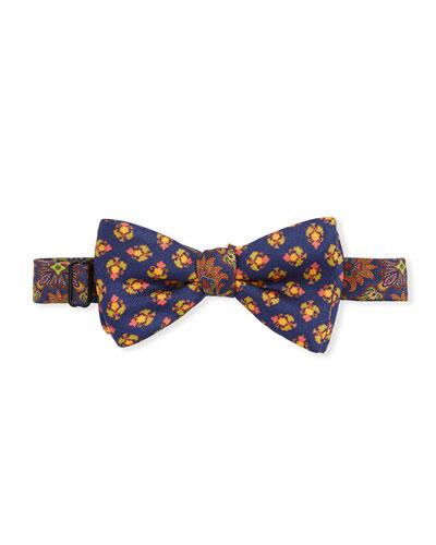 Men's Walton Floral Silk Bow Tie