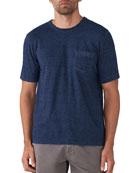 Faherty Men's Striped Pocket T-Shirt