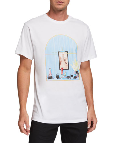 Men's Window Graphic T-Shirt