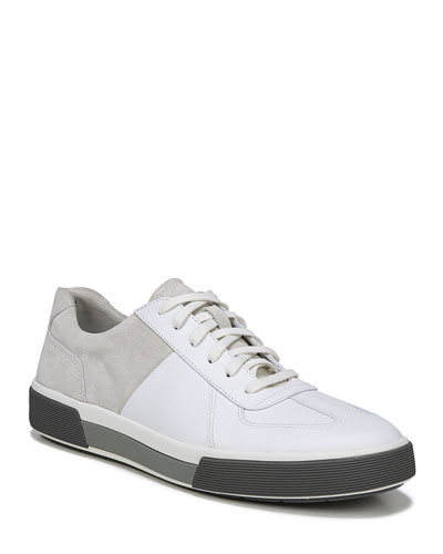 Men's Rogue Suede & Leather Low-Top Sneakers