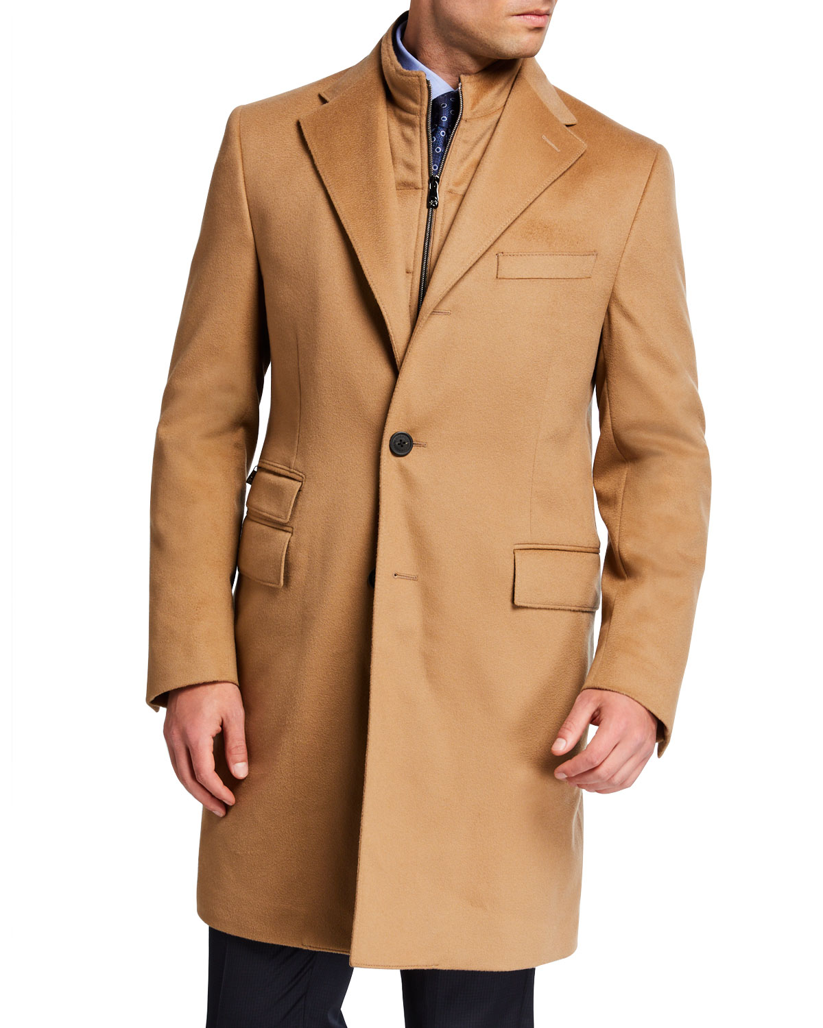 Men's ID Top Coat w/ Removable Dickey