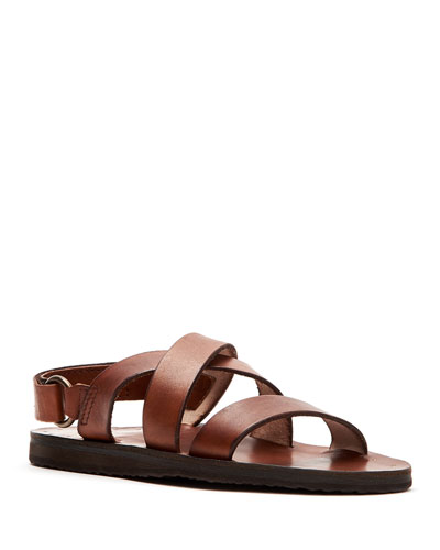Men's Cape Crisscross Slingback Sandals