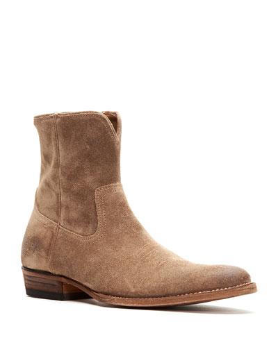 Men's Austin Suede Inside Zip Boots