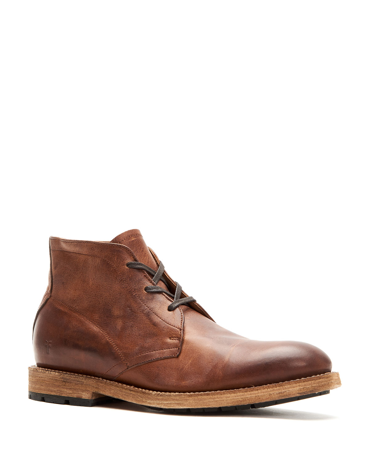 Men's Bowery Leather Lace-Up Chukka Boots