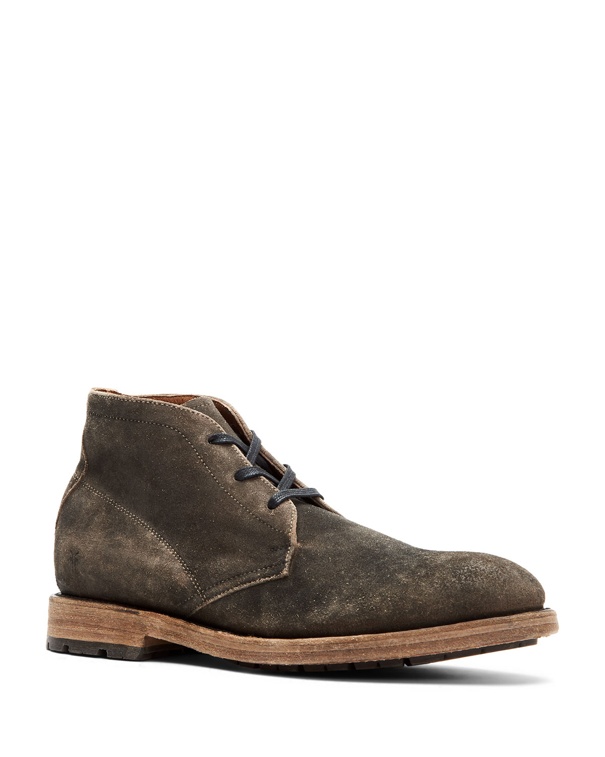 Men's Bowery Distressed Suede Chukka Boots