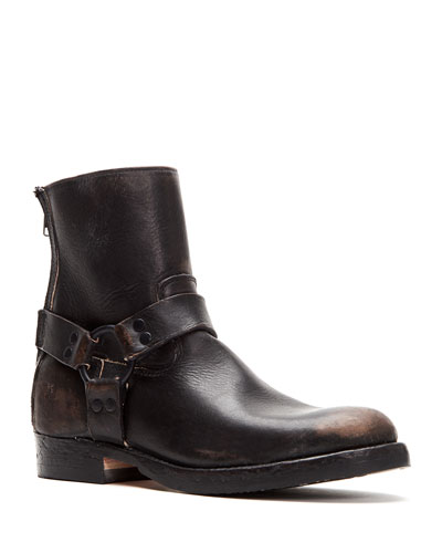 Men's John Addison Leather Harness Boots