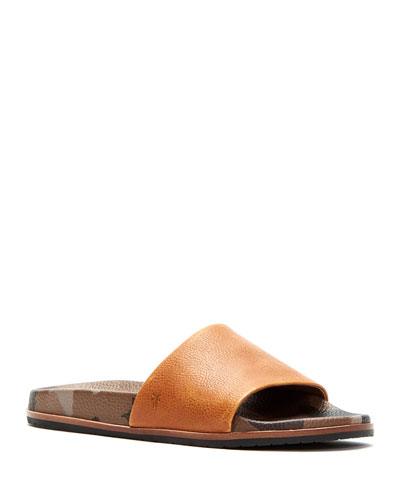 Men's Evan Leather Slide Sandals