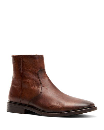 Men's Paul Leather Ankle Boots