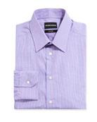 Emporio Armani Men's New York Check Cotton Dress