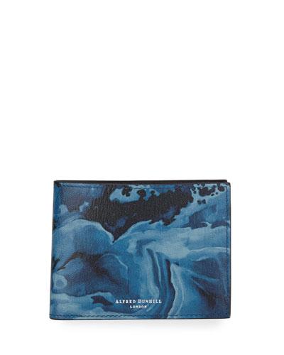 Duke Marble Leather Billfold Wallet