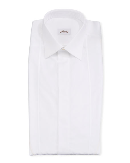 Brioni Men's Bib-Outline Formal Dress Shirt