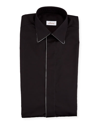 Men's Formal Shirt w/ Contrast Piping