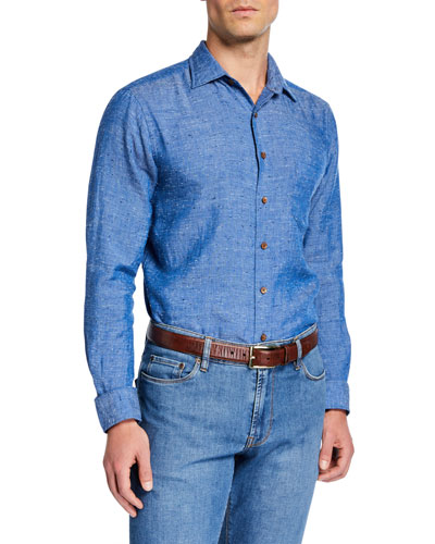 Men's Branhill Linen Sport Shirt
