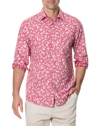 Men's Ramsay Long-Sleeve Poplin Shirt