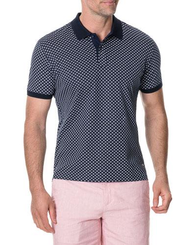 Men's Cape Archer Birdseye Polo Shirt