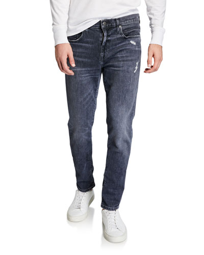 Men's Asher Wolfgang Distressed Jeans