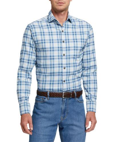 Men's Light Flannel Performance Sport Shirt