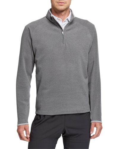 Men's Fleece 1/4-Zip Sweater