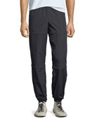 Balenciaga Men's Zip-Panel Convertible Track Pants