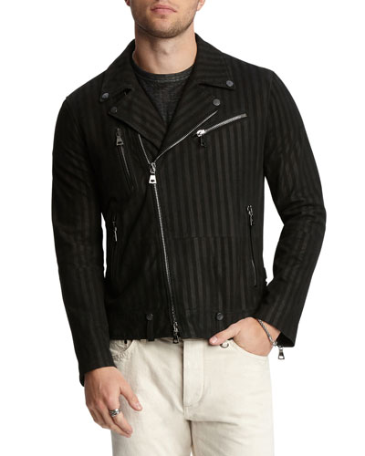 Men's Goatskin Slim-Fit Jacket
