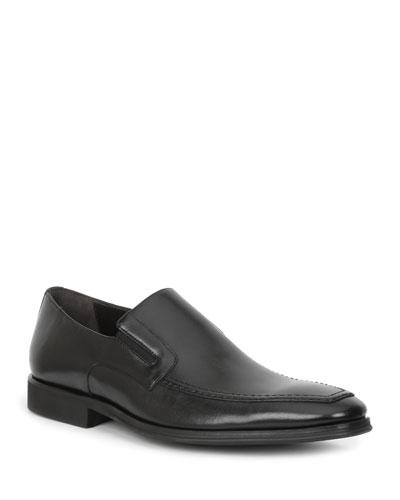 Men's Raging Leather Slip-On Loafers
