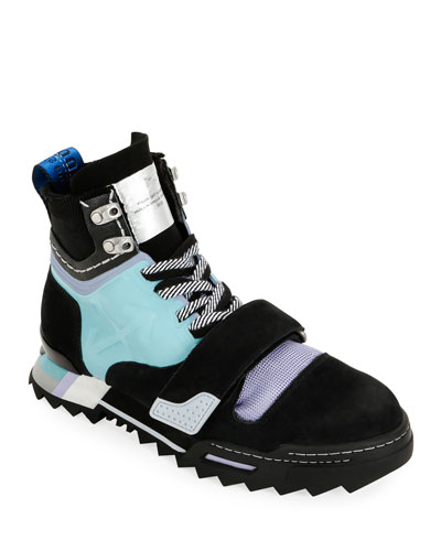 Men's Arrow Colorblock Hiking Sneaker Boots