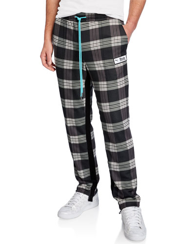 Men's x Rhude Plaid Track Pants