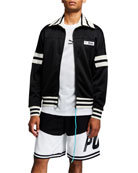 Puma Men's x Rhude Colorblock Track Jacket