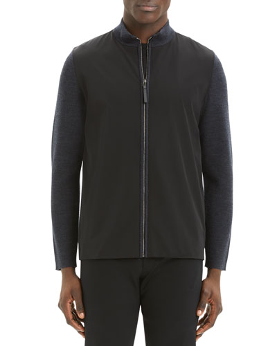 Men's Detroe Milos Zip-Front Sweater