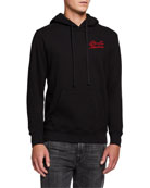 Deus Ex Machina Men's Essence Logo-Embroidered Hoodie