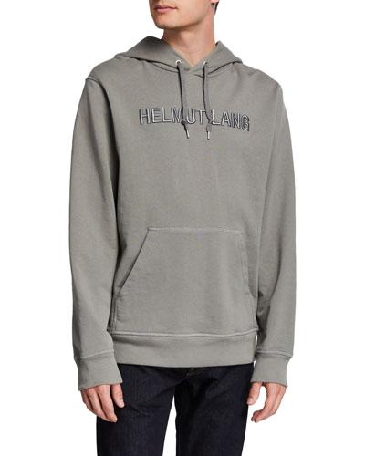 Men's Raised Embroidery Hoodie Sweatshirt