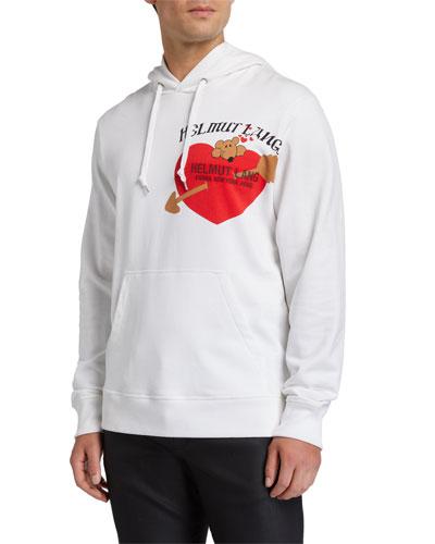 Men's PZ Valentine Graphic Hoodie Sweatshirt