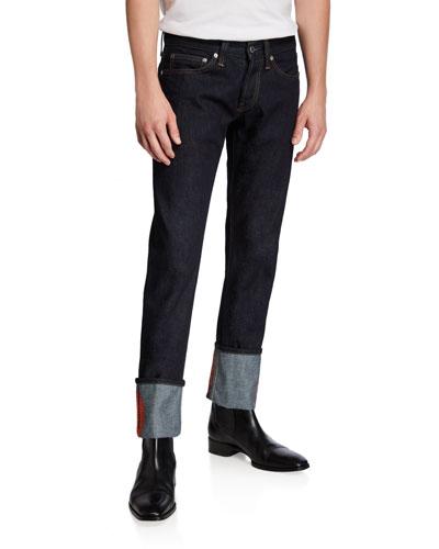 Men's Josephine Lo Masc Drainpipe Jeans