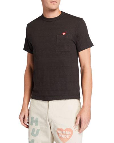 Men's Crewneck Pocket T-Shirt