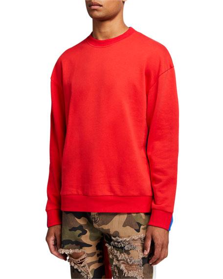 Mostly Heard Rarely Seen Men's Fanatic Crewneck Sweatshirt
