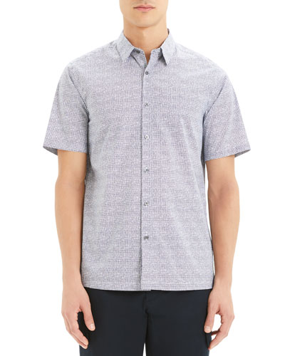 Men's Irving Lumen Short-Sleeve Sport Shirt