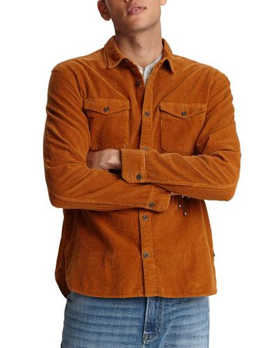 Men's Dale Corduroy Western Sport Shirt