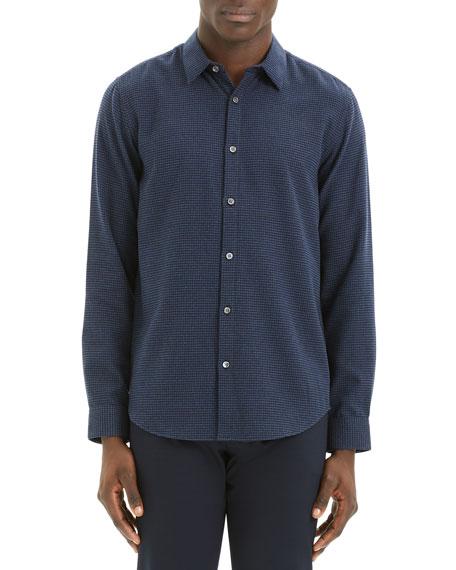 Theory Men's Irving Beacon Textured Sport Shirt