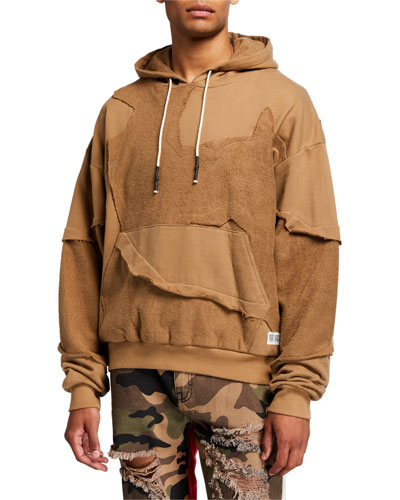 Men's Cut Me Up Drop-Shoulder Pullover Hoodie