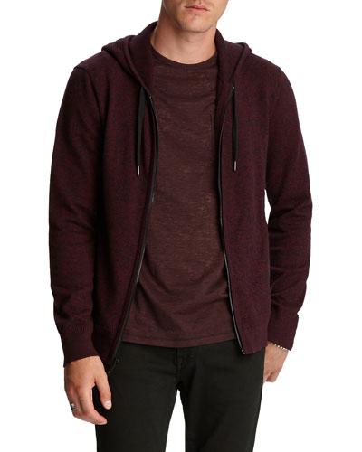 Men's Richmond Marled Zip-Front Hoodie