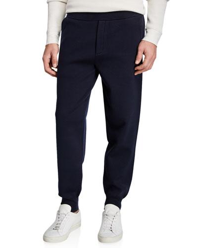 Men's Cotton Zip-Front Hoodie