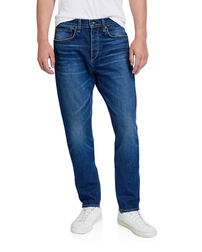 Men's Standard Issue Fit 2 Mid-Rise Relaxed Slim-Fit Whiskered Jeans