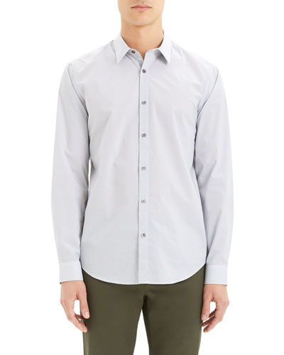 Men's Irving Alberto-Print Sport Shirt